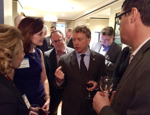 Senator Rand Paul, Hunter Howard and Jill Schweiter